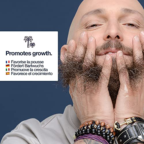 Huile a barbe par sapiens barbershop 50ml fabriquee en france 100 dingredients dorigine naturelle enrichie en huile de ricin hydrate et favorise la pousse de la barbe cedre agrumes 0 2