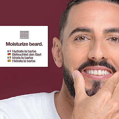 Huile a barbe par sapiens barbershop 50ml fabriquee en france 100 dingredients dorigine naturelle enrichie en huile de ricin hydrate et favorise la pousse de la barbe cedre agrumes 0 3