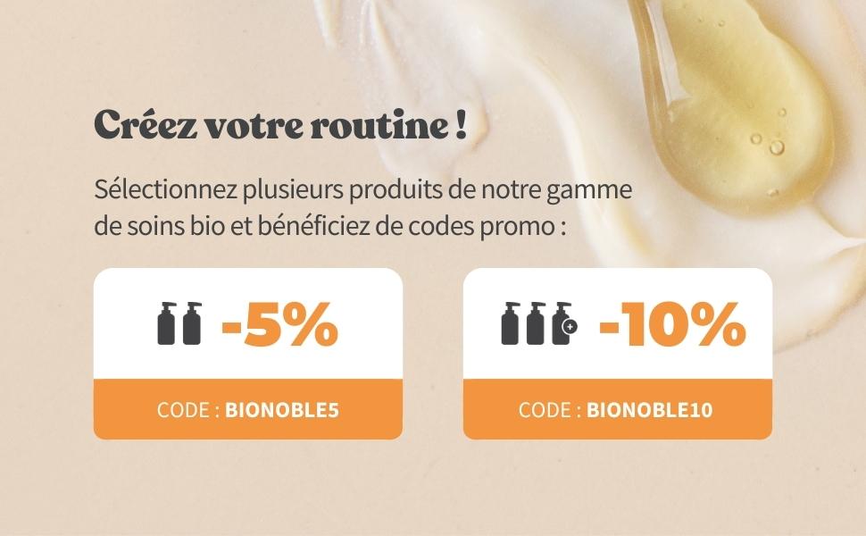 Bionoble promo sur l'huile de ricin
