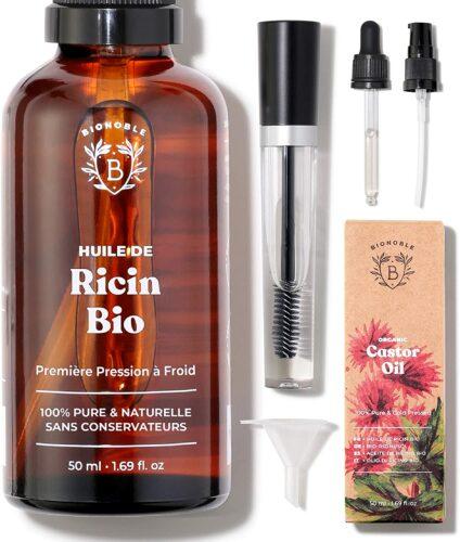 Bionoble huile de ricin 100% bio et naturelle